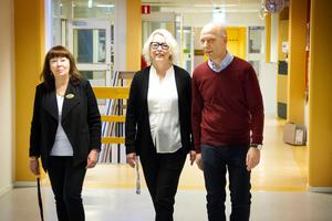Lena Andersson Malm,  Eva Hildebrand och Johan Rasmussen.