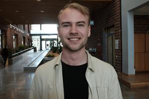 Douglas Thor, riksordförande för Moderata studenter.