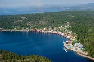 Statsministrarna kommer att åka ut till Ulvöhamn och äta lunch på hotellet.