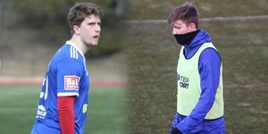 Kompisarna Karl Pettersson och Ruben Skoglund känner varandra väl sedan tiden i Rimbo. Nu återfinns Skoglund i Rådmansö – och det lär bjudas på både en och två dueller spelarna emellan.