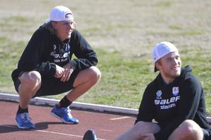 Marcus Hardegård under första träningen för säsongen.