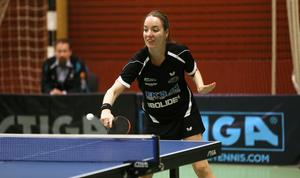 Anastasia Burkova var den enda Junospelaren som vann en singelmatch mot Storfors.