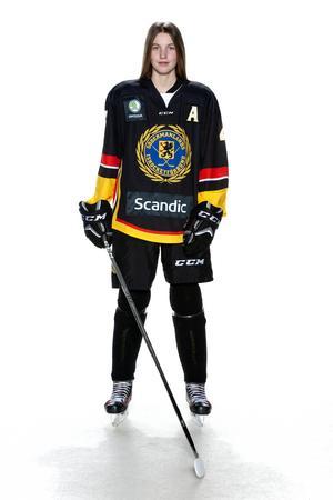 Foto: Lars-Åke Johansson/Södermanlands  Ishockeyförbund. Beatrice Hjälm.