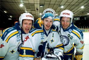 Per-Erik Eklund, Johan Hedberg och Anders