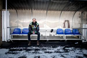 Mattias Johansson, spelande tränare i Frillesås. Till nästa säsong kan ledarstaben förstärkas. FOTO: Björn Larsson Rosvall/TT