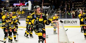 Anthon Eriksson vill fortsätta jubla med publiken i ABB Arena.