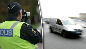 Insändarskribenten vill se att fler fortkörare åker fast i Skönsberg. Bild: Fredrik Sandberg/TT / Bertil Ericson/TT
