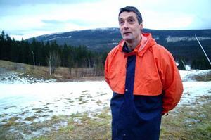 Anders Nylén, 45, har debuterat som författare med romanen William. Nu skriver han på sin andra roman. Foto: Elisabet Rydell-Janson