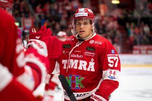 Anton Wedin stod för 14 mål i SHL – nu är det NHL nästa. Foto: Bildbyrån