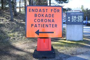 Coronaviruset påverkar hela samhället, unga som gamla. Foto: Fredrik Sandberg/TT
