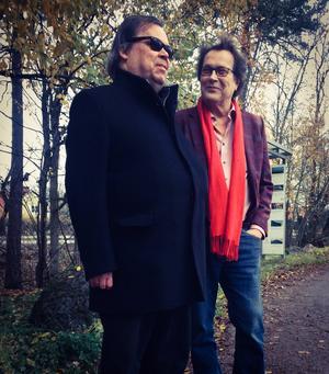 Klas Qvist och Mikael Ramel. Bild: Petra Holmstedt