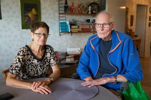 Margareta och Bengt Holmblad.