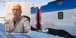 Lars Sundberg är en av de boende som störts av Mälartåget som testas i Hudiksvall.