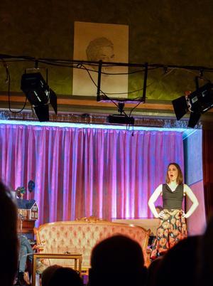 Ylva Gruen, som fick stipendiet 2012, avrundade med en uppfriskande aria ur Carmen.