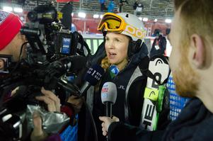 Anja Pärson var VM-drottning i Åre 2007. Även 2019 var hon påpassad, efter att ha ställt upp i välgörenhetstävlingen