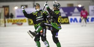 Anton Lööf och Fredrik Brandin fick jubla mot AIK – till slut.