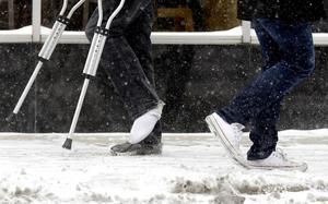 Tänk på sulan i vintern, så slipper du förhoppningsvis kryckorna. Bild: Nam Y. Huh