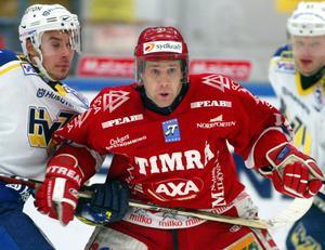 Timrå IK:s Niklas Nordgren. Timrå Isstadion. Timrå- HV71. 2003-02-14. Bild: ST arkiv