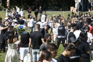 Förra veckans studentutspring i Dalparken väcker reaktioner.