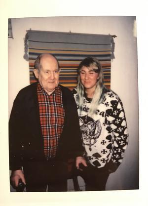 Stefan Forsberg och Julia.