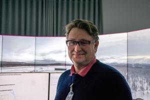 Stefan Andersson, projektledare på Skistar i Sälen, besökte RTC Sundsvall tillsammans med en delegation från den nya flygplatsen.