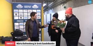 Märta Dufvenberg har utsetts till Årets Sandvikenbo.