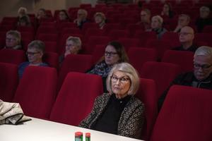 Majsiri Östlund var djupt koncentrerad. Trots de kluriga frågorna kom hon trea.