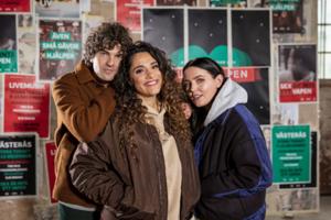 Daniel Hallberg, Farah Abadi och Miriam Bryant kommer att befinna sig i buren under Musikhjälpen.