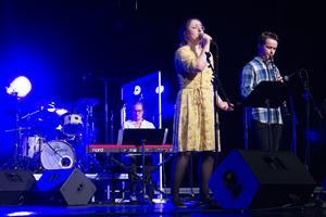 Totalt bjöds det på sjutton nummer under vårkonserten på Slottegymnasiet i Ljusdal.