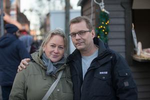 Rose-Marie Persson och Ted Wettergren.