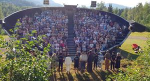 Många har sett Dunderklumpen i sommar. Foto: Kerstin Wikström.