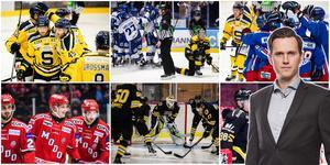 Jacob Sjölin är SSK-redaktör på Hockeypuls. Bilder till montaget från Bildbyrån.