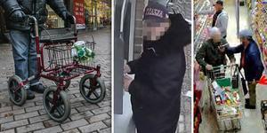 De metodiska stölderna mot äldre begicks på orter i hela Sverige, från Malmö till Luleå. Foto: Arkiv/Polisens förundersökning