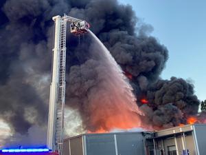 Branden på Ica i Järvsö.