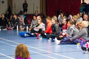 Det kom runt 120 personer till Gymmix träningskonvent i Delsbo på lördagen.