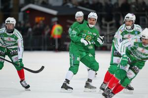 Rboin Sundin i mötet med VSK på Zinken. Mot Sirius gjorde han två viktiga mål för sitt Hammarby.