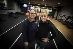 Zara Watanen, pastor och Hanna Weinéus, personlig tränare har startat podden