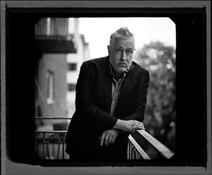 Leif G W Persson berättar om sina olika  yrkesliv. Foto: Thron Ullberg