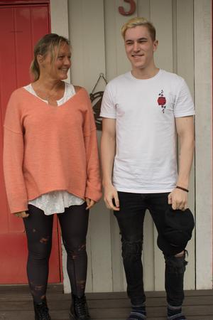 Margit Sundström är nu glad att sonen David Sundberg har avslutat sina studier för att ägna sig åt sin passion på heltid.