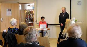 Björn Ericsson berättar kort om förlaget och boken.