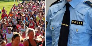 Polisen vill rekrytera kvinnor under Vårruset i Falun den 21 maj. Arkivbild. Foto: DT/TT