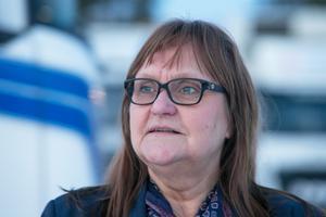 """Marianne Kurtson noterar att det sakta men säkert blir fler kvinnor inom åkernäringen i landet, både på ledande poster och som chaufförer. """"Det är positivt""""."""