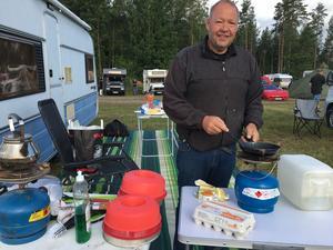 Stefan Sikmo från Borås agerar kock under veckan