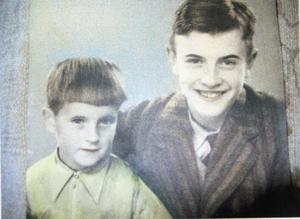 Sven och hans bror Våge. Bild: Privat