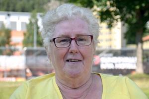 Lena Berglund, 60 +, pensionär, Sundsbruk.