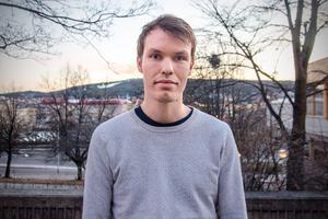 David Forslund är en av många inom Sundsvalls kommun som arbetar med att planera för den nya stadsdelen Katrinehill.