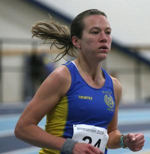Maria Eriksson blev tredje bästa dam på 7.18,20.