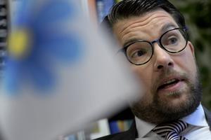 Debattörerna vill ha svar på om Sverigedemokraternas partiledare Jimmie Åkesson delar SD Dalarnas faktaförnekelse. Foto: TT