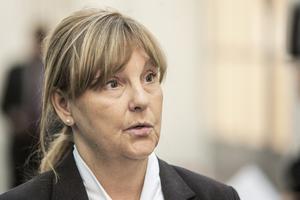 Kammaråklagaren Madeleine Pettersson yrkade på livstids fängelse under sista rättegångsdagen.