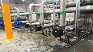 Guldstadens vattenverk i Skellefteå har UV-rening från Water Processing och Trojan Technologies. Foto: Privat